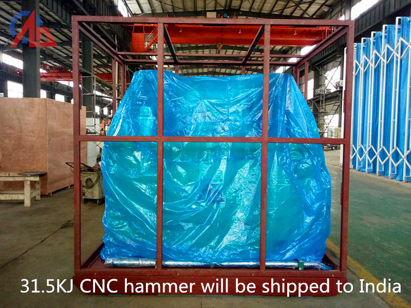 31.5KJ CNC Hammer will be shipped to India