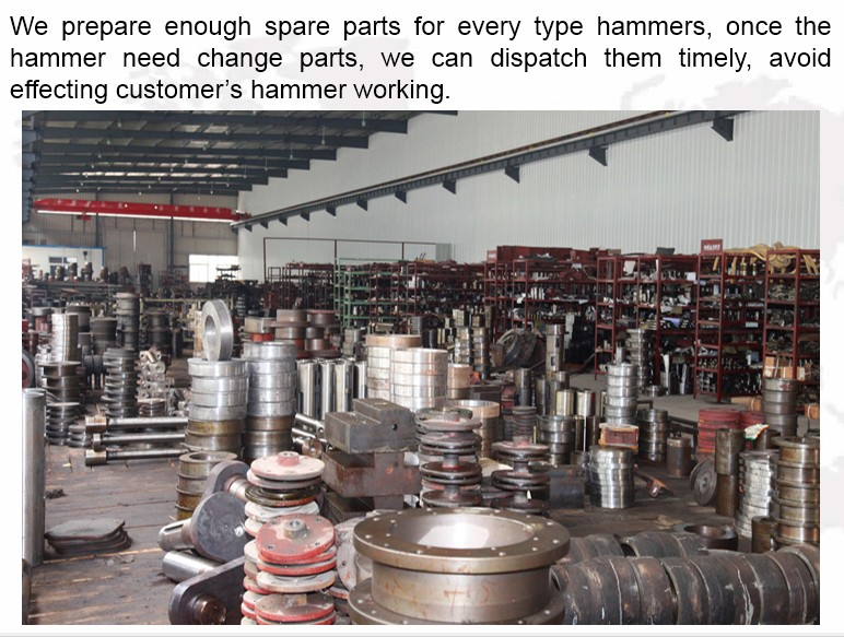 forging hammer spare parts supply
